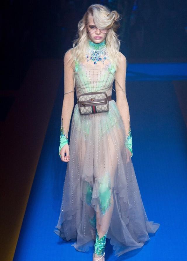 時尚大片 Gucci(古馳)米蘭時裝周發佈2018春夏高級成衣系列