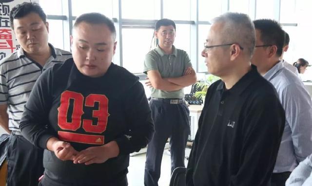 市委改革办副主任王庆伟一行到汶上产业带调研