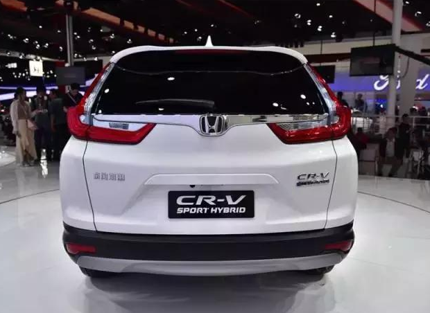 东风本田全新 CR/V,全新SUV,油耗却低的/
