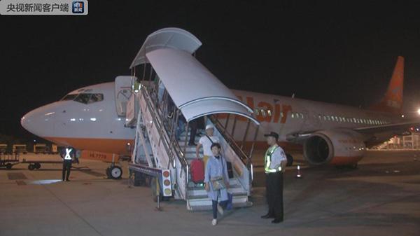 海南今起實施59國人員入境旅遊免簽政策,首批免簽遊客抵達