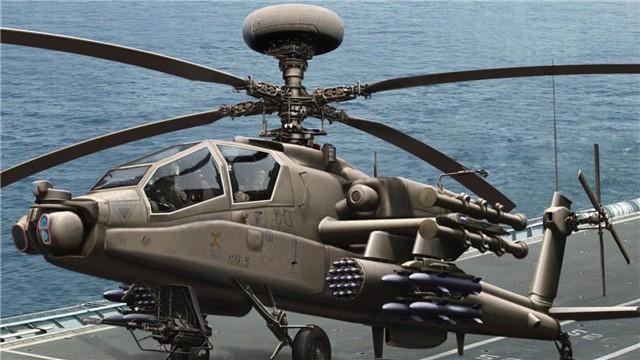 一枚国产导弹划破长空,阿帕奇直升机被击落,五