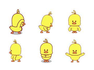 最近抖音最火小黄鸭表情包大全