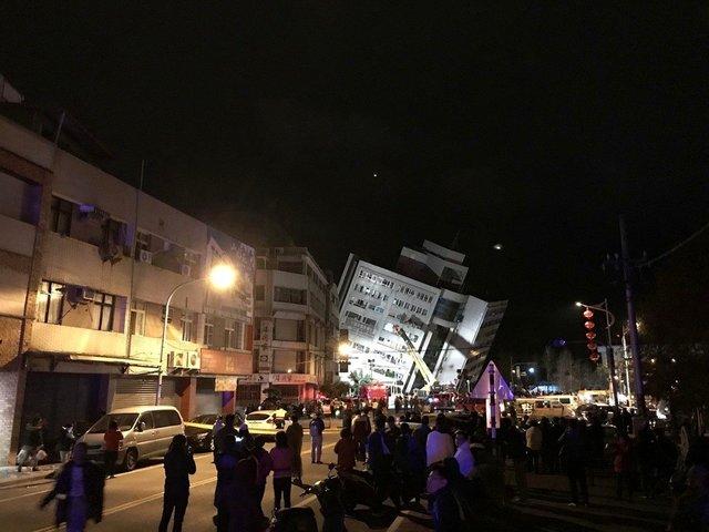 台媒:花蓮市深夜7級強震,已導致至少2死百餘傷!