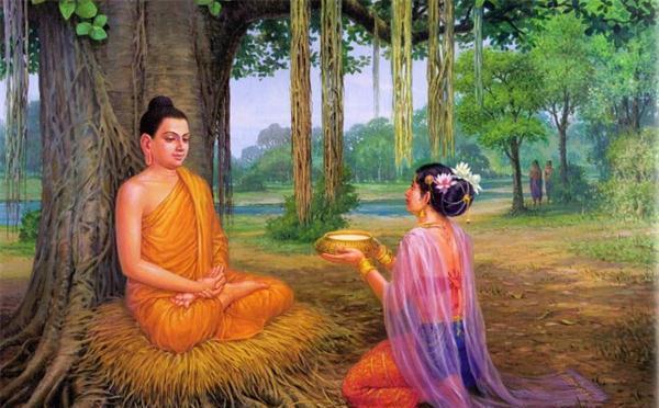 佛陀证道时,那名供养乳汁粥的少女是谁?