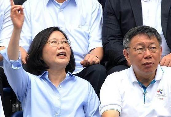 台媒社論:蔡英文欲用「台灣價值」誅柯文哲之心