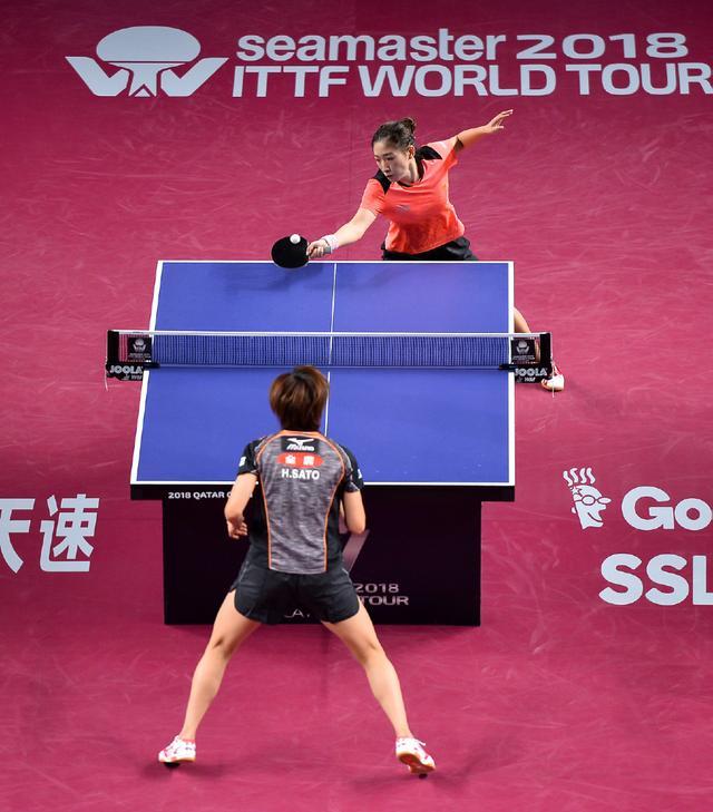 乒乓球--卡塔尔公开赛:刘诗雯晋级半决赛(3)