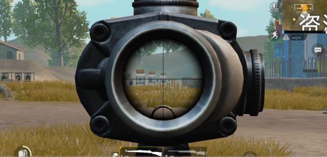 刺激战场:4倍8倍狙要怎么打才能枪枪爆头?教你镜子的用法!