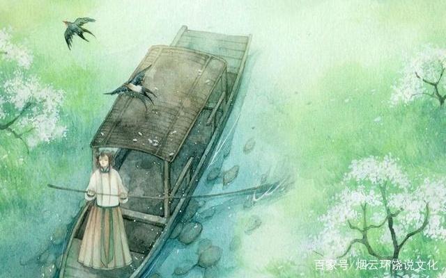 读杜牧《金谷园》,繁华事散逐香尘,流水无情草