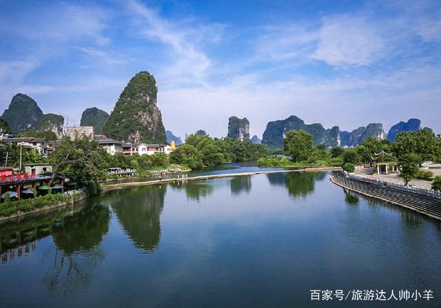 骑行十里画廊,感受最地道的桂林山水,发现旅游