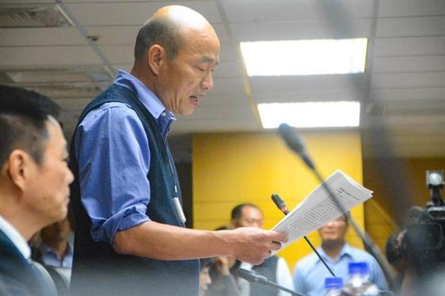 高雄市长韩国瑜访问厦门 签署近2亿农渔订单