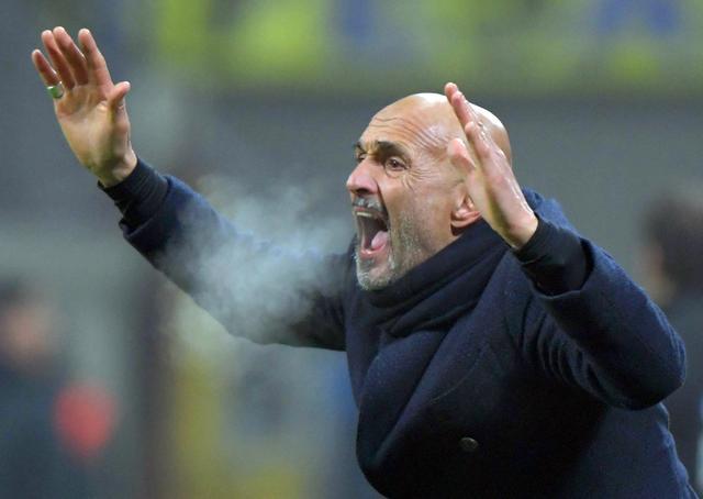 足球--意大利杯:拉齐奥胜国米