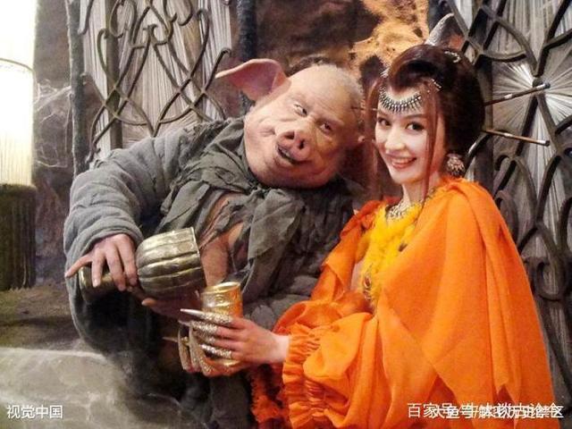 猪八戒保唐僧西天取经去了,老婆高翠兰最后怎