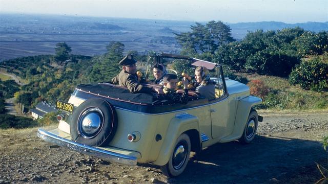 大赢家彩票美军中校拍摄,五十年代初的日本生活(图1)