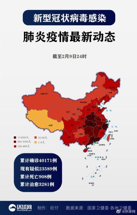 新闻资讯-免费yoqq最新疫情地图出炉:全国累计确诊40171例新冠肺炎,新增306yoqq资源(1)