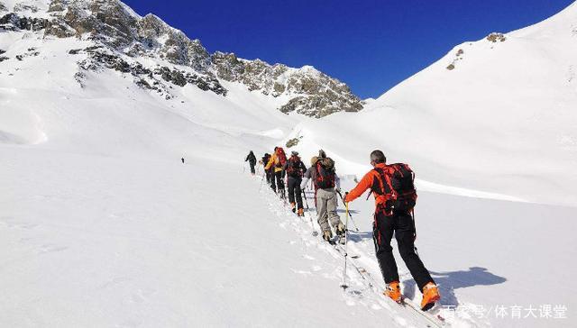 登山与滑雪以及滑雪登山