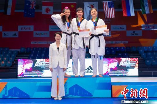 2018年世界跆拳道大滿貫海選賽中國隊再奪兩金