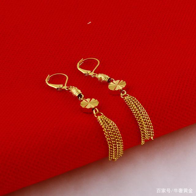 黃金首飾回收多少錢,常見黃金耳飾有哪些款式?