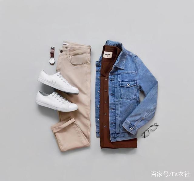 男生秋冬季卫衣搭配什么外套最好看?男生牛仔