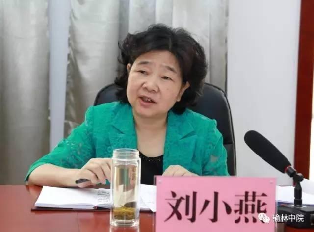 委会副主任刘小燕一行来榆林调研并听取法院检