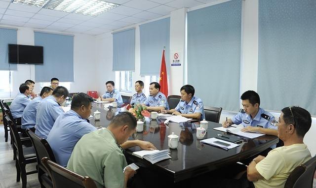儋州市公安局召开执法规范化建设迎检工作部署
