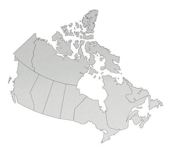 加拿大:注了水的国土面积,陆地面积实际不及中