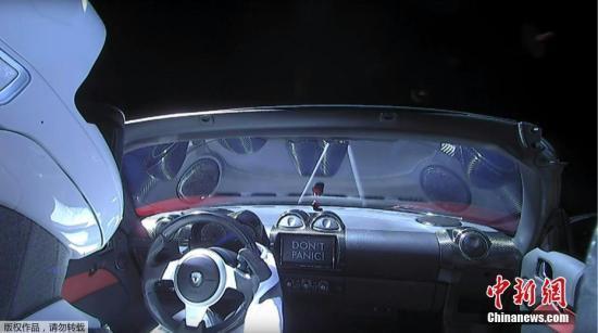 編號43205:發射升空的特斯拉跑車被美列入衛星名錄